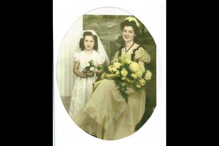 Bridal Portrait Old Photo Restoration