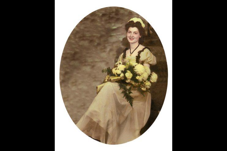 Bridal Portrait Photo Restoration