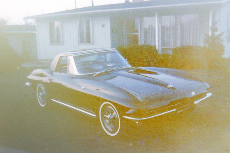Corvette Old Photo Restoration