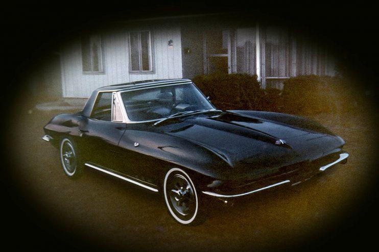 Corvette Photo Restoration