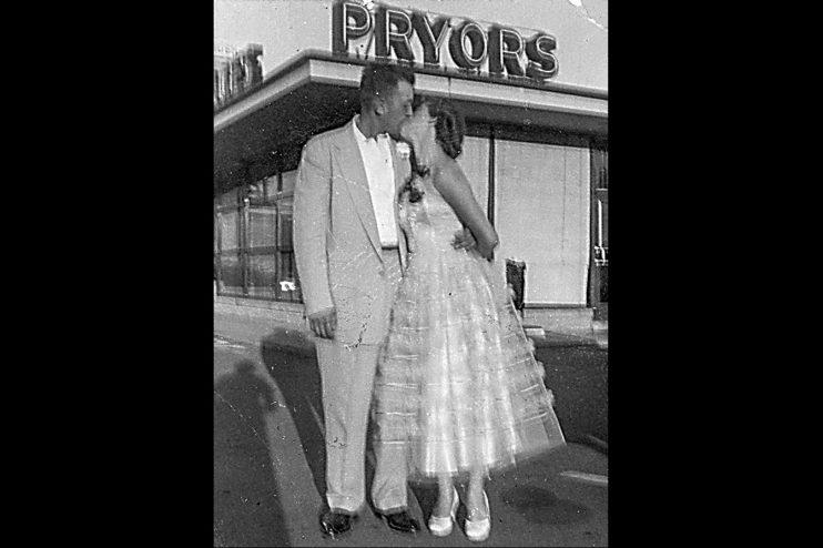 Couple Pryors Old Photo Restoration