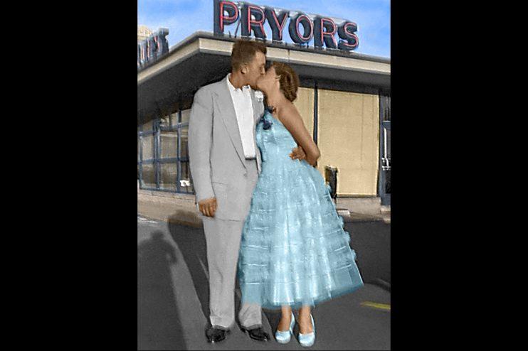 Couple Pryors Photo Restoration