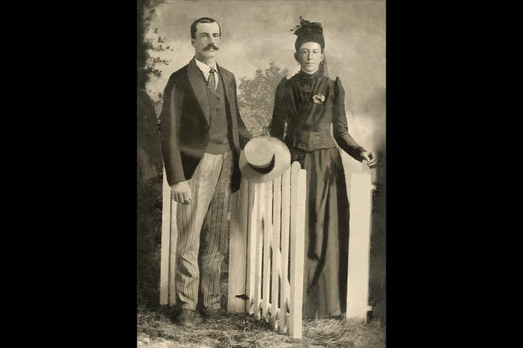 Historic Couple Photo Restoration
