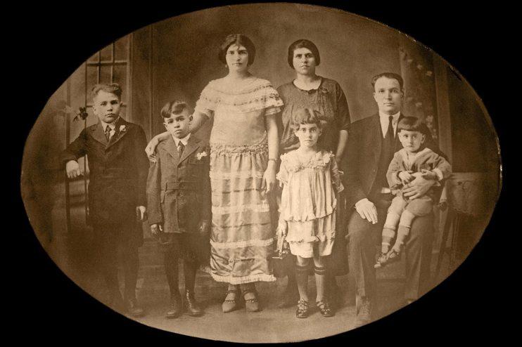 Historic Family Photo Restoration