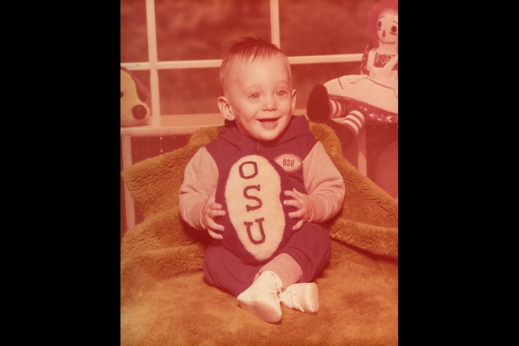 OSU Baby Portrait Old Photo Restoration