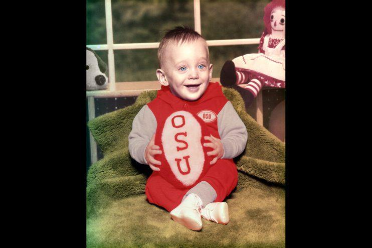 OSU Baby Portrait Photo Restoration
