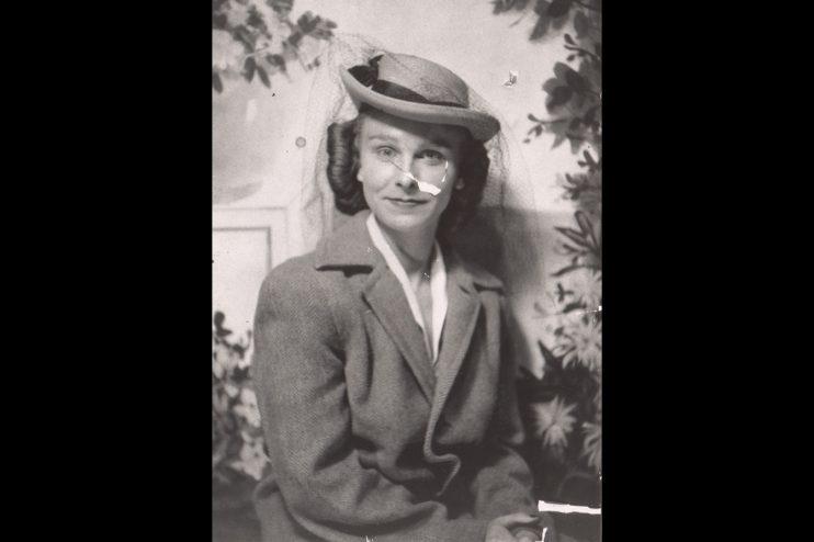 Woman Portrait Old Photo Restoration