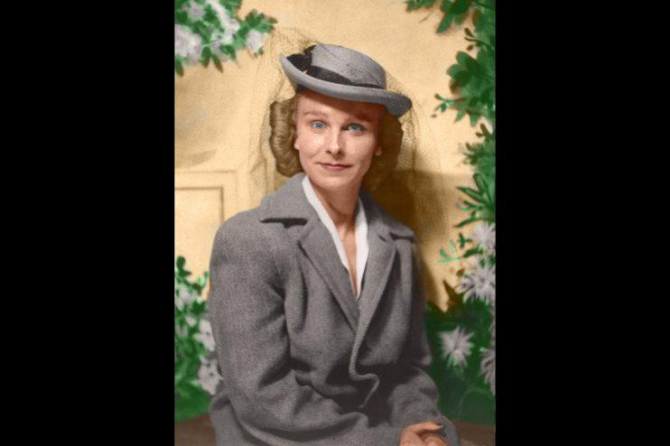 Woman Portrait Photo Restoration