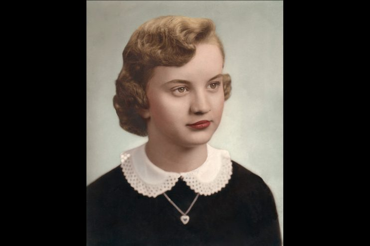 Young Girl Photo Restoration